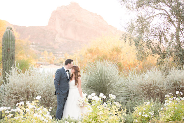 Blush Desert Wedding | Amy & Jordan Photography | Bridal Musings Wedding Blog 36