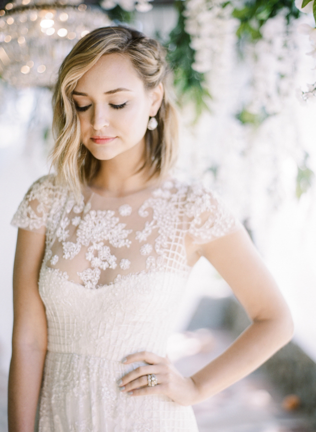 Wedding Dress Styles For Short Brides : Gorgeous hairstyles for bridesmaids