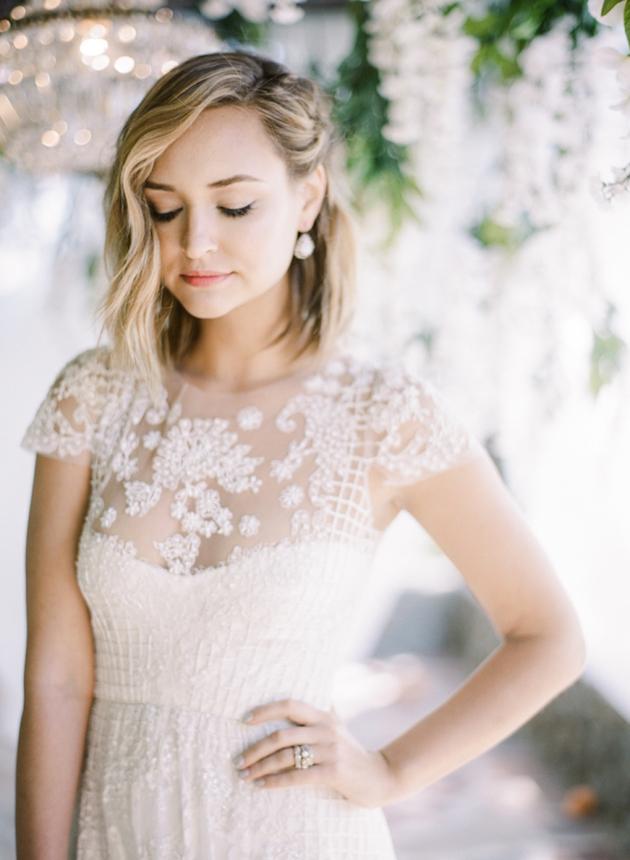 blog short hair wedding styles