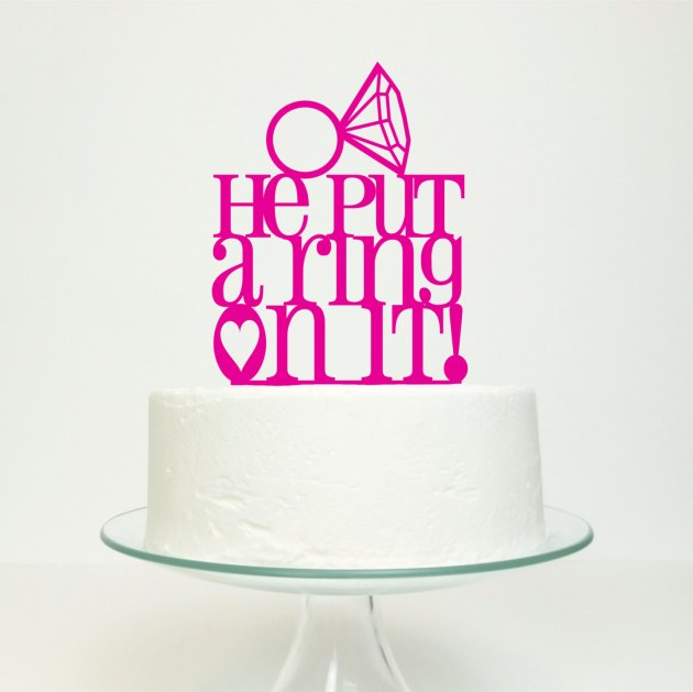 Cake Toppers on Etsy | Bridal Musings Wedding Blog 1