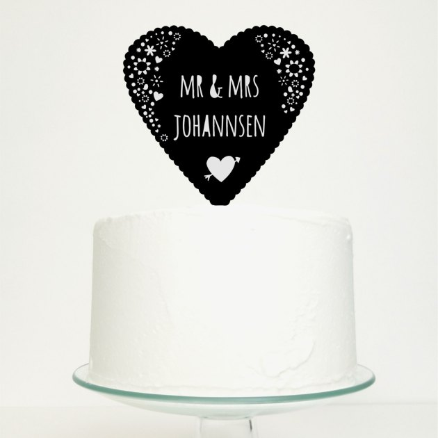 Cake Toppers on Etsy | Bridal Musings Wedding Blog 3