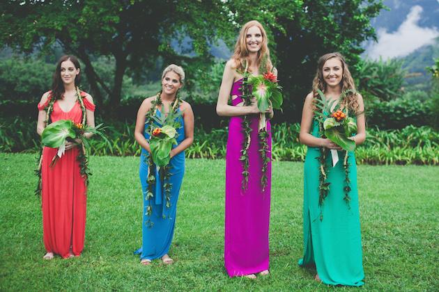 Colourful Hawaiian Wedding | Maui Maka Photography | Bridal Musings Wedding Blog 27