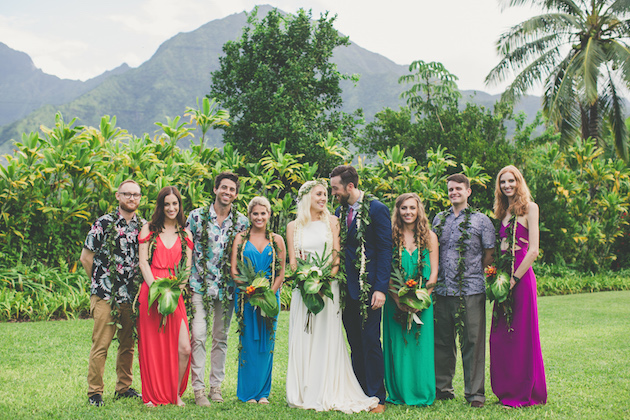 Colourful Hawaiian Wedding | Maui Maka Photography | Bridal Musings Wedding Blog 43