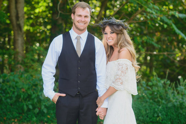 Cool Boho Wedding | Jessie Holloway Photography | Bridal Musings Wedding Blog 36