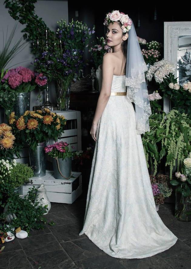 Cruelty-Free Wedding Dress | Bridal Musings WEdding Blog