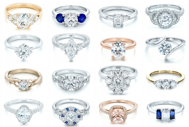 Custom Made Engagement Rings  Joseph Jewelry  Bridal Musings Wedding Blog