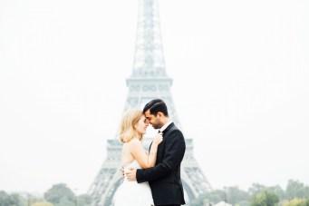 Happy Valentine's Day! Gorgeous Parisian Love Story & Beautiful Wedding Dresses