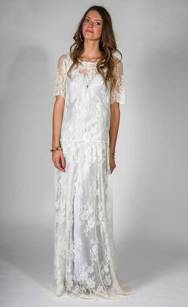 Locally Sourced Wedding Dress | Belle & Bunty | Bridal Musings Wedding Blog