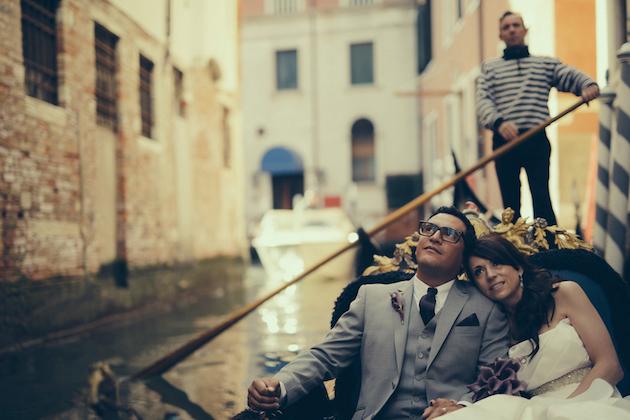 Romantic Venice Elopement | David Bastianoni | Weddings in Italy | Bridal Musings Wedding Blog 25