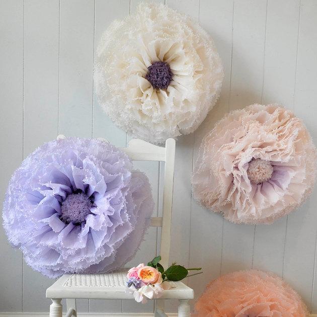 Unique Pom Pom Decor from Etsy | Bridal Musings Wedding Blog 2