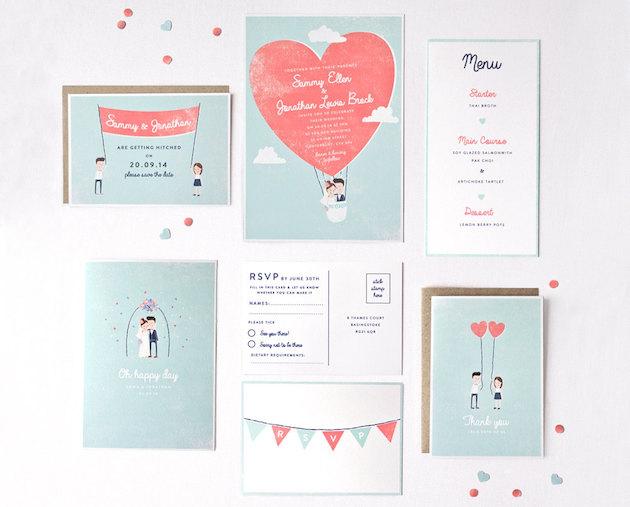Wedding Stationery on Etsy | Bridal Musings Wedding Blog