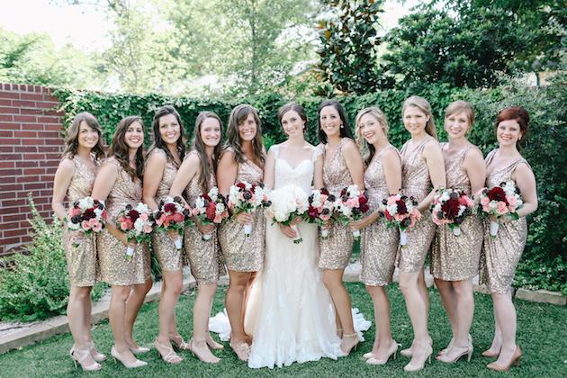 Sweet 4th Of July Weddingwith Sequins Sparklers Weddbook