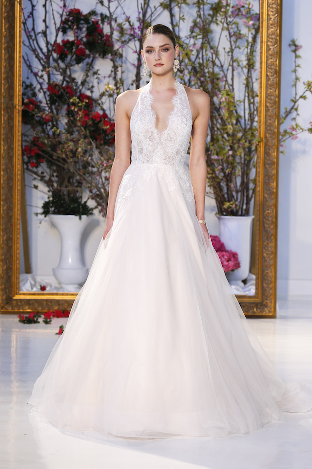 The collection is comprised of 30 timeless gowns for the romantic