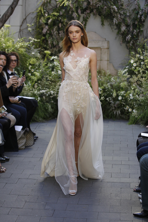 Wedding Outfit Ideas 2017 : Monique lhuillier wedding dress collection spring