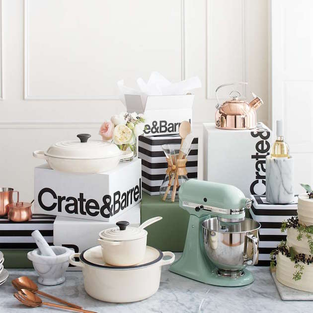 Crate And Barrel Wedding Registry.Our Dream Wedding Registry With Crate And Barrel Weddbook