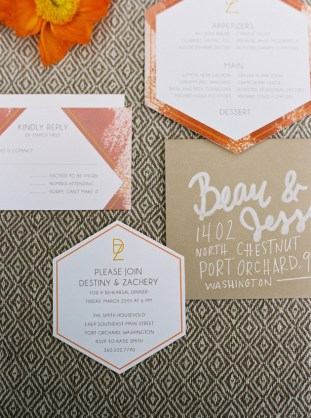 Cool Geometric Wedding Inspiration | Anniversary Shoot | Anna Peters Photography | Bixby + Pine | Bridal Musings Wedding Blog 33