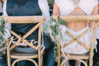 Gorgeous Chair Ideas for Weddings | Bridal Musings Wedding Blog 33