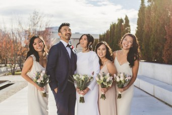 Chic & Modern Restaurant Wedding