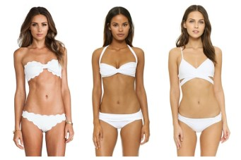 40 Chic White Bikinis For Your Honeymoon (Or Holiday)