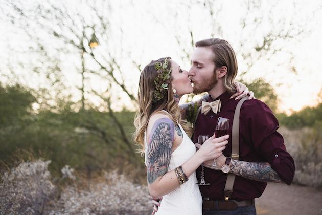 Cool Desert Elopement Picnic | A Travelers Heart | Bridal Musings Wedding Blog 11