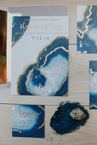 Gems & Geodes Wedding Inspiration | Alex Lasota Photography | TinSparrow Events | Bridal Musings Wedding Blog 11