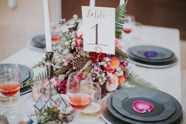 Gems & Geodes Wedding Inspiration | Alex Lasota Photography | TinSparrow Events | Bridal Musings Wedding Blog 35