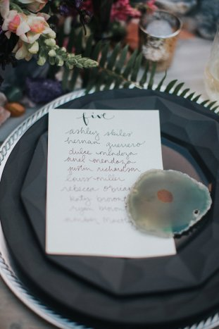 Gems & Geodes Wedding Inspiration | Alex Lasota Photography | TinSparrow Events | Bridal Musings Wedding Blog 4