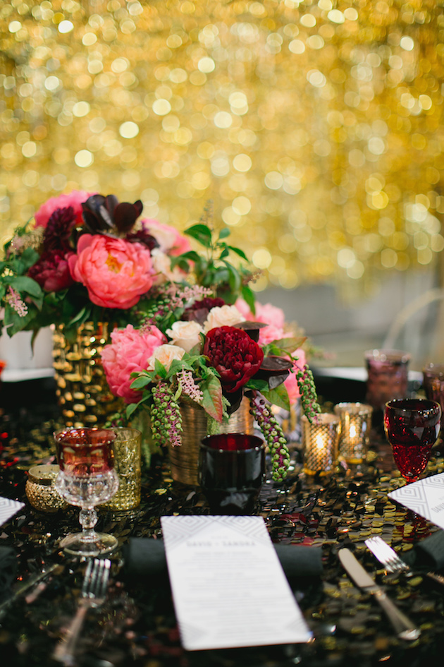 Black, White, Pink and Sparkle | Real Wedding | Aaron Young Photography | A Good Affair Wedding and Event Production | Bridal Musings Wedding Blog %0A 27