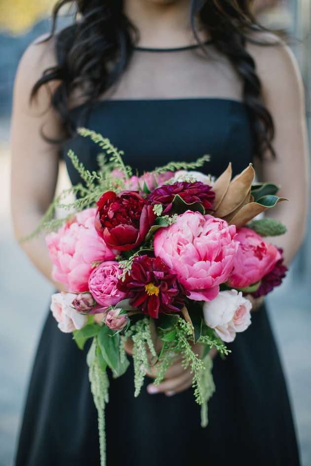 Black, White, Pink and Sparkle | Real Wedding | Aaron Young Photography | A Good Affair Wedding and Event Production | Bridal Musings Wedding Blog %0A 31