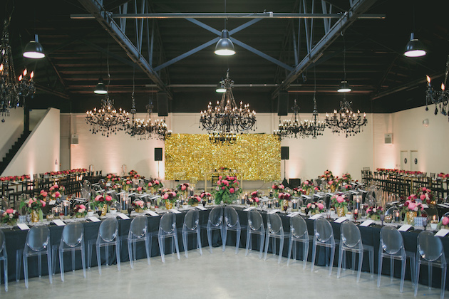 Black, White, Pink and Sparkle | Real Wedding | Aaron Young Photography | A Good Affair Wedding and Event Production | Bridal Musings Wedding Blog %0A 33