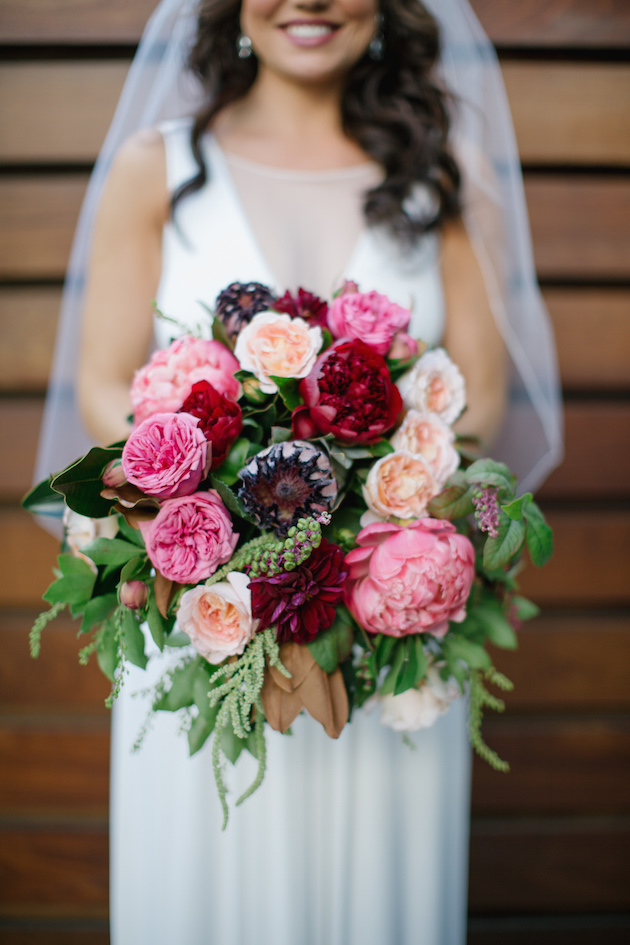 Black, White, Pink and Sparkle | Real Wedding | Aaron Young Photography | A Good Affair Wedding and Event Production | Bridal Musings Wedding Blog %0A 5