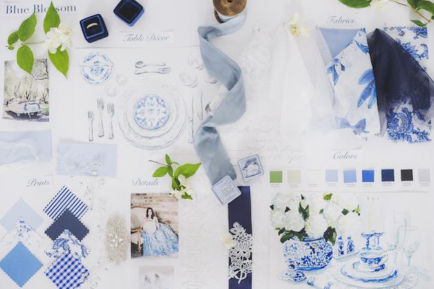 Something Blue Floral Wedding Inspiration   Katia Tumenyeva Photography   Viktoria Gusova & Elena Gavrilova   Bridal Musings Wedding Blog 27