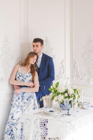 Something Blue Floral Wedding Inspiration   Katia Tumenyeva Photography   Viktoria Gusova & Elena Gavrilova   Bridal Musings Wedding Blog 29