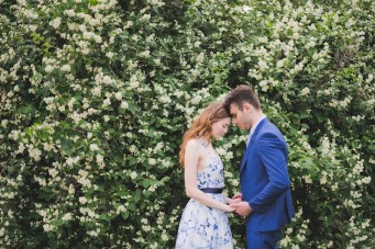 Blue Blossom: Classic Meets Modern Wedding Inspiration from Russia