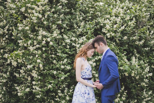 Something Blue Floral Wedding Inspiration   Katia Tumenyeva Photography   Viktoria Gusova & Elena Gavrilova   Bridal Musings Wedding Blog 30