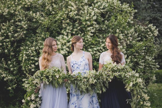 Something Blue Floral Wedding Inspiration   Katia Tumenyeva Photography   Viktoria Gusova & Elena Gavrilova   Bridal Musings Wedding Blog 36