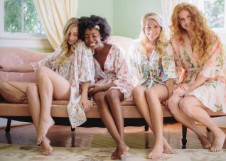 Gorgeous Bridal Robes to Get Ready In