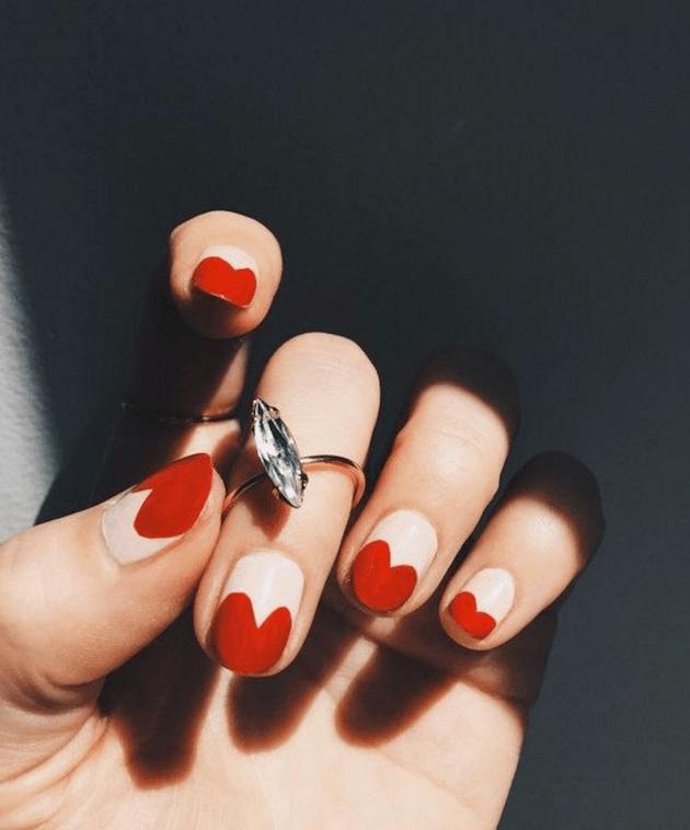 love-heart-nails