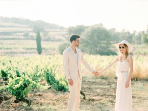 Effortlessly Chic St. Tropez Engagement Shoot