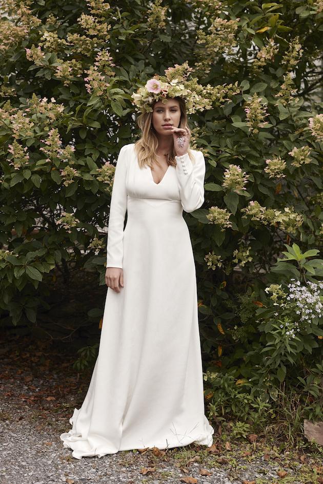 Elegant Bohemian The New Savannah Miller Wedding Dress