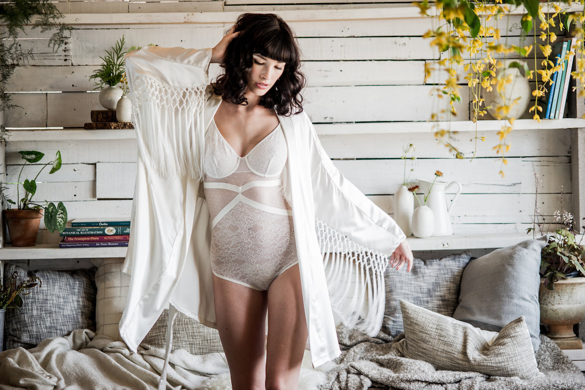Shop Gorgeous Bridal Robes To Get Ready In